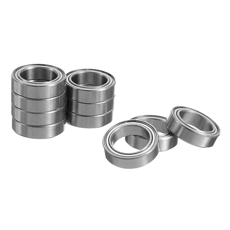 6700ZZ 10*15*4mm Deep Groove Metal Double Shielded Ball Bearing Thin Wall Roller 6