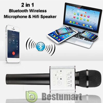 ... Q9 Handheld KTV Microphone Wireless Bluetooth Karaoke Home Mic Speaker Player 2