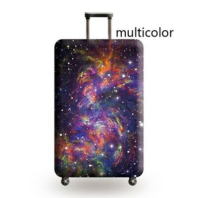 Travel Luggage Cover Galaxy Starry Elastic Anti-Scratch Suitcase Dust Protector 7