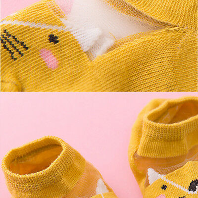 5 Pairs Baby Boy Girl Cartoon Cotton Ankles Socks Newborn Infant Toddler Soft 10