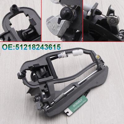 For Bmw X5 E53 1999 - 2006 Front Inner Door Handle Carrier Left N/S 8243615 Uk 2