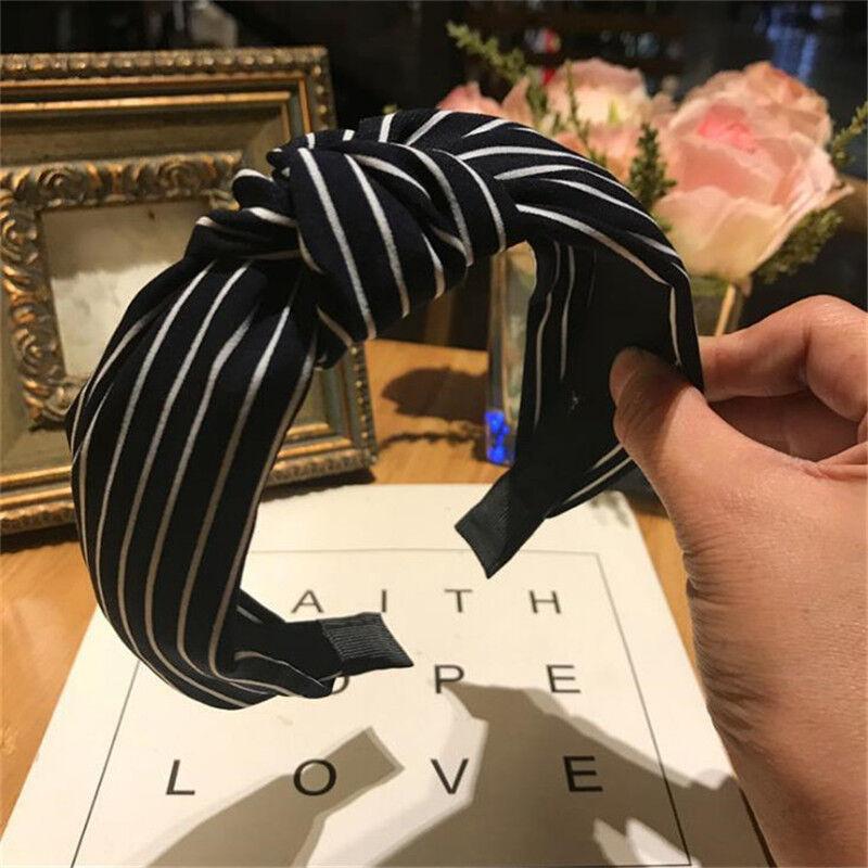 Women's Girl Yoga Elastic Hairband Knot Headband Headwrap Hair Hoop Accessories 10