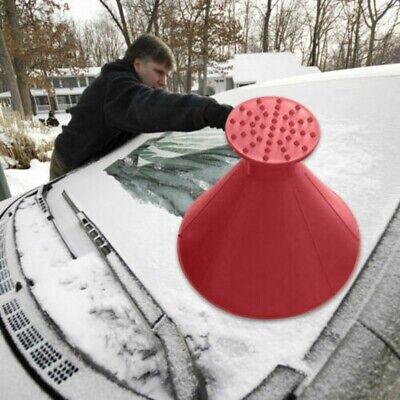 Snow Remover Ice Scraper Car Windshield Scrapper Cone Shaped  Funnel Squeegees 3