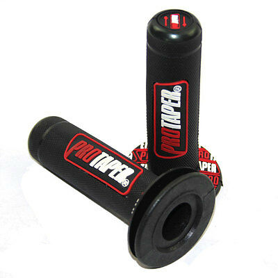 Pro Taper 2x Manopola manubrio Motocross Pit Bike Motard manopole 7//8 grip GIALL