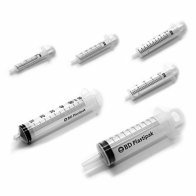 Bd - 2Ml 5Ml 10Ml 20Ml 50Ml-60Ml 100Ml Medical Syringes Sterile Choice Of Q New