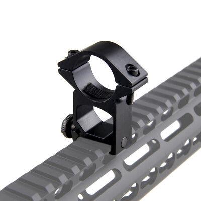 """45°& 1"""" 25.4mm Ring QD Clamping Mount 20mm Rail Fr Hunt Flashlight Laser Shotgun 11"""