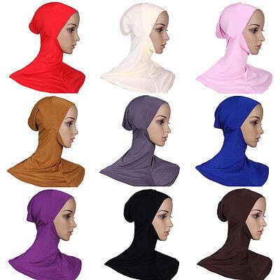 Mussulmano Cotone Pieno Copertura Hijab Interna Cappellini Islamico Stretto 3