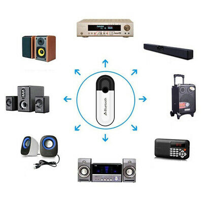 2 in 1 Bluetooth 5.0 Receiver USB Audio Wireless *Adapter For Headphone Spea KY 2