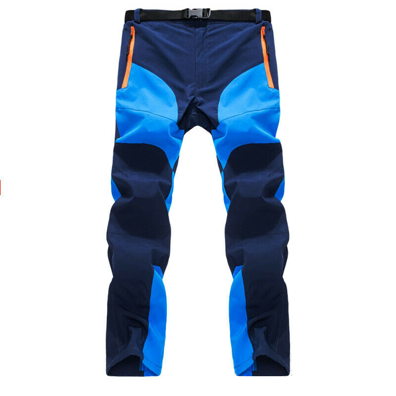 Men Tactical Trousers Waterproof Hiking Climbing Sport Combat Cargo Work Pants 5