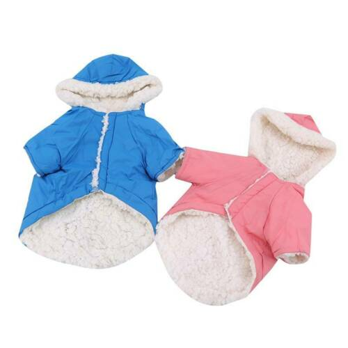 Winter Dog Coats Pet Cat Puppy Chihuahua Clothes Hoodie Warm  Dog Clothing Z 5