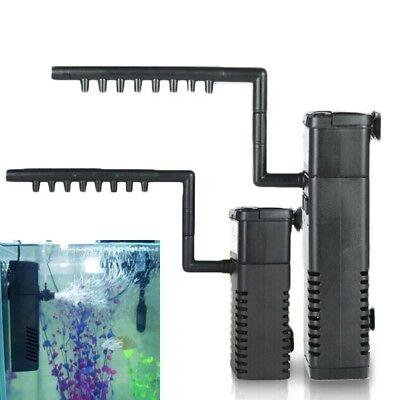 300LPH verticale Aquarium Fish Tank Filtre interne Pompe de filtration pulvérisa 6