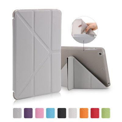 Full Cover Soft TPU Magnetic Back Case For iPad Air Mini 1 2 3 4 AUTO SLEEP WAKE 2