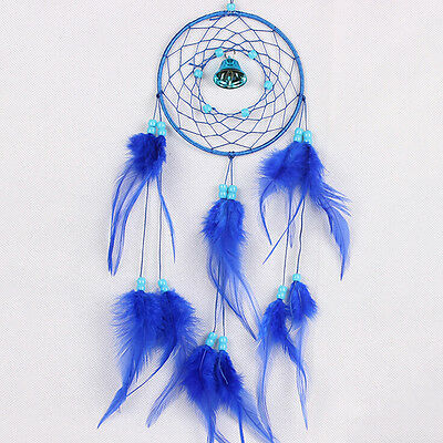 Dream Catcher with Feathers Car Wall Hanging Decor Ornament Craft Gift SG 3