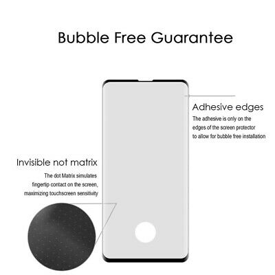 NUGLAS Tempered Glass Screen Protector Samsung Galaxy S10 Note 10 Plus 5G 9 8 12