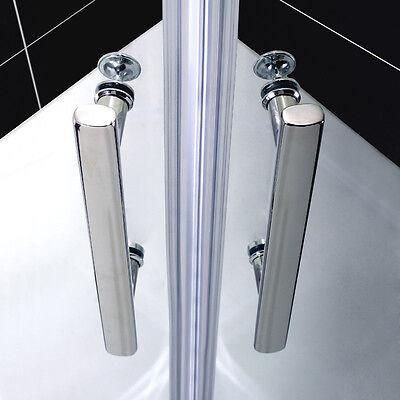 90 x 90 cm duschkabine runddusche duschabtrennung viertelkreis doppel faltt r eur 230 99. Black Bedroom Furniture Sets. Home Design Ideas