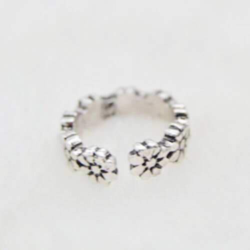 12PCs/set Adjustable Jewelry Retro Silver Open Toe Ring Finger Foot Rings New 9
