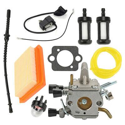 Carburateur Allumage Kit Kit pour Stihl FS120 FS200 FS250 FS250R FS300 FS350 De 2