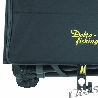 DELTA FISHING Luxus Feeder Box Futtertisch Beistelltisch Tackle Box für Kiepe 10