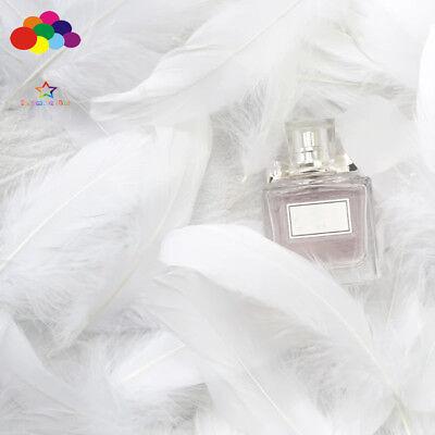 100pcs Natural Goose Feathers 8-12 Cm Swan Plume DIY Carnival Decoration Craft 7