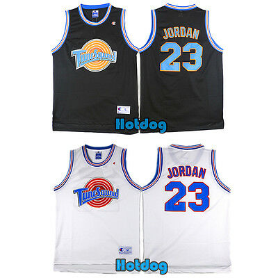 Michael Jordan 23 Space Jam Tune Squad Movie Jersey Stitched Adult Kid Youth Top 11