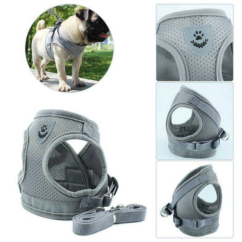 Nylon Service Dog Vest Harness Patches Reflective Small Large Medium XS-XL 8