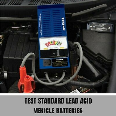 Kincrome Car Battery Load Tester 6 or 12V 100A Heavy Duty
