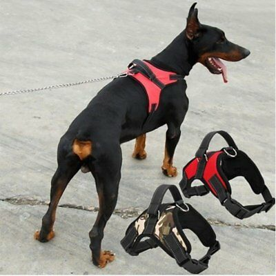 Non-Pull Dog Harness Adjustable Pet Puppy Walking Strap Vest Soft Chest Belt UK 5
