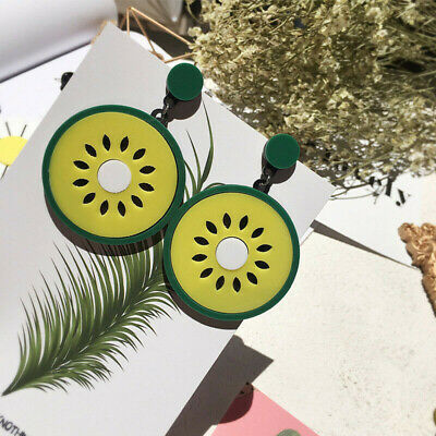 Fashion Women Delicious Fruit Acrylic Pendant Dangle Ear Studs Earrings Jewelry 8