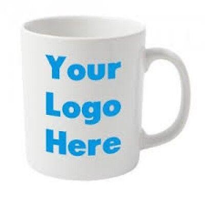 Business Branded Printed Mug-Any,Logo,name or text-Bulk Buy from £1.50ea ex vat 4