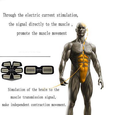 Elettrostimolatore Vers. 2 Per Stimolare I Muscoli Addominali Braccia E Gambe 4