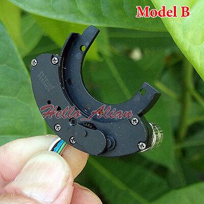 2PCS 2-Phase 4-Wire Miniature 8mm Micro Mini Stepper Motor Copper Gear Camera 10