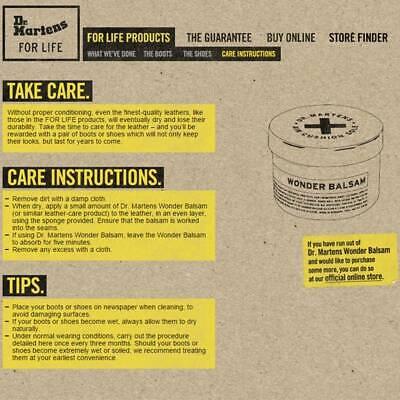 Dr. Martens Shoe Care Kit, Black + Brown Laces, Cloth, Wonder Balsam & Dubbin 11