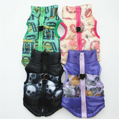 Winter Pet Dog Cat Coat Puppy Jacket Pet Supplies Clothes Apparel Costumes Cloth 6