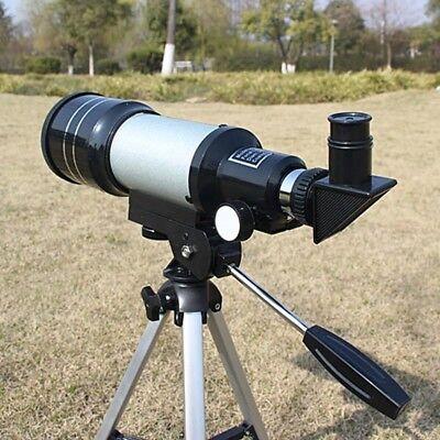Telescopio Monoculare Astronomico Rifrangente Treppiede Cavalletto F300/70Mm 4