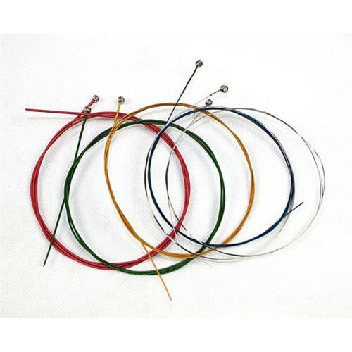 Acoustic Guitar Strings Guitar Strings One Set 6pcs Rainbow Colorful Color UK 8