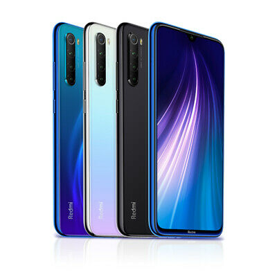 "Xiaomi Redmi Note 8 4+64GB Smartphone Handy Snapdragon Core 6.3"" Quad Cameras 9"