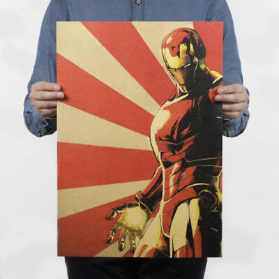 Avengers Thor,Iron Man,Black Widow,Captain America Kraft Paper Poster Picture 6