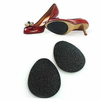 5Pairz of Self-Adhesive Anti-Slip Stick on Shoe Grip Pads Rubber Sole Protectors 9