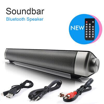 Wireless Bluetooth Sound Bar Speaker Super Bass Stereo Home TV Subwoofer System 8