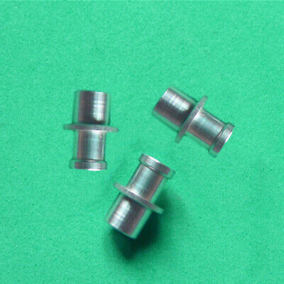 0.8mm 1//32 Zoll Drahtseil Aluminium Aderendhuelse Silber-Ton 100 Stueck Y6N3