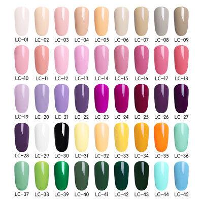 51 Couleur Multiple UV Gel Nail Art Semi Permanent Vernis à ongles LILYCUTE 5ML 6