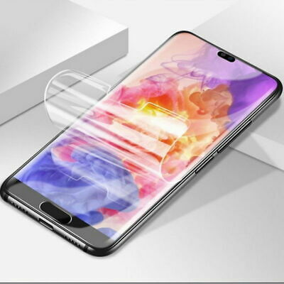 For Huawei P30 Pro P30 Lite HYDROGEL Full Coverage Screen Protector Film Gurd 5