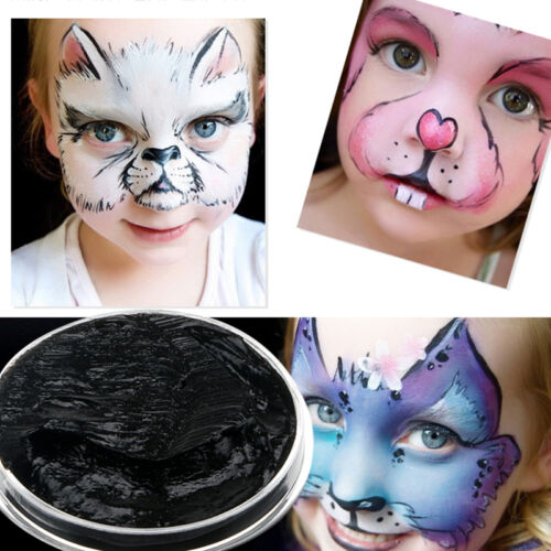 Face Paints 3 Colors Cream Makeup Masquerade Party Halloween Fancy Carnival New 2