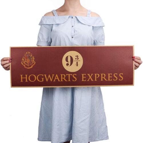 Harry Potter Wallpaper Platform Poster Paper Hogwarts Merchandise Wall Art Decor 2