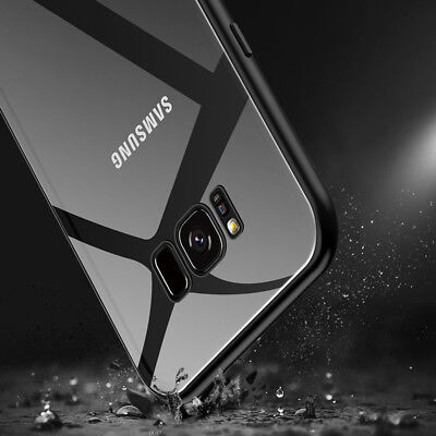 Magnetic Tempered Glass Case Cover Samsung Galaxy S8 S9 S10 Plus S10E Note 8 9 7