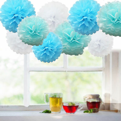 Baby Shower Boy Girl Decorations Set Sashes Balloon Bunting Photo Props Pompoms 6