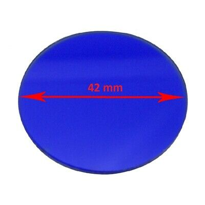 Microscope Blue Color Filter 45 42 35 32 mm Diameter for Biological Microscope 4