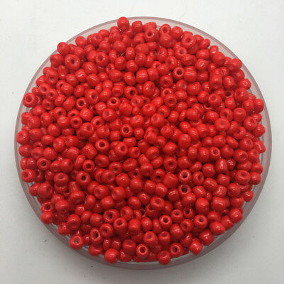 200pcs 4mm Glass Beads Charm Czech Glass Seed beads For Jewelry Making 11