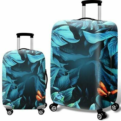 Printed Travel Suitcase Protective Cover Luggage Protector Elastic Dust proof 12