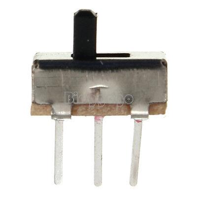 20Stks 3 Pin SS12D00G3 2 Position SPDT 1P2T PCB Panel Mini Vertical Slide Switch 3